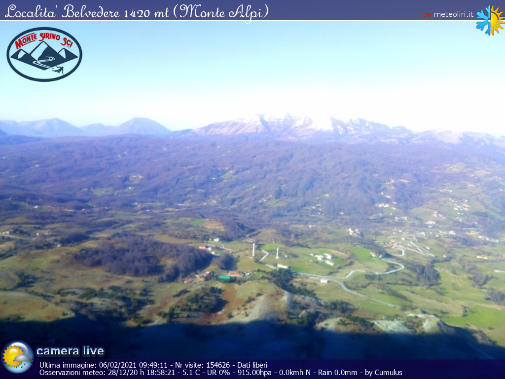 Webcam Conserva di Lauria